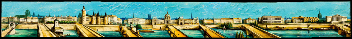 Diaphanorama d'Eugène Danguy - Panorama de Paris