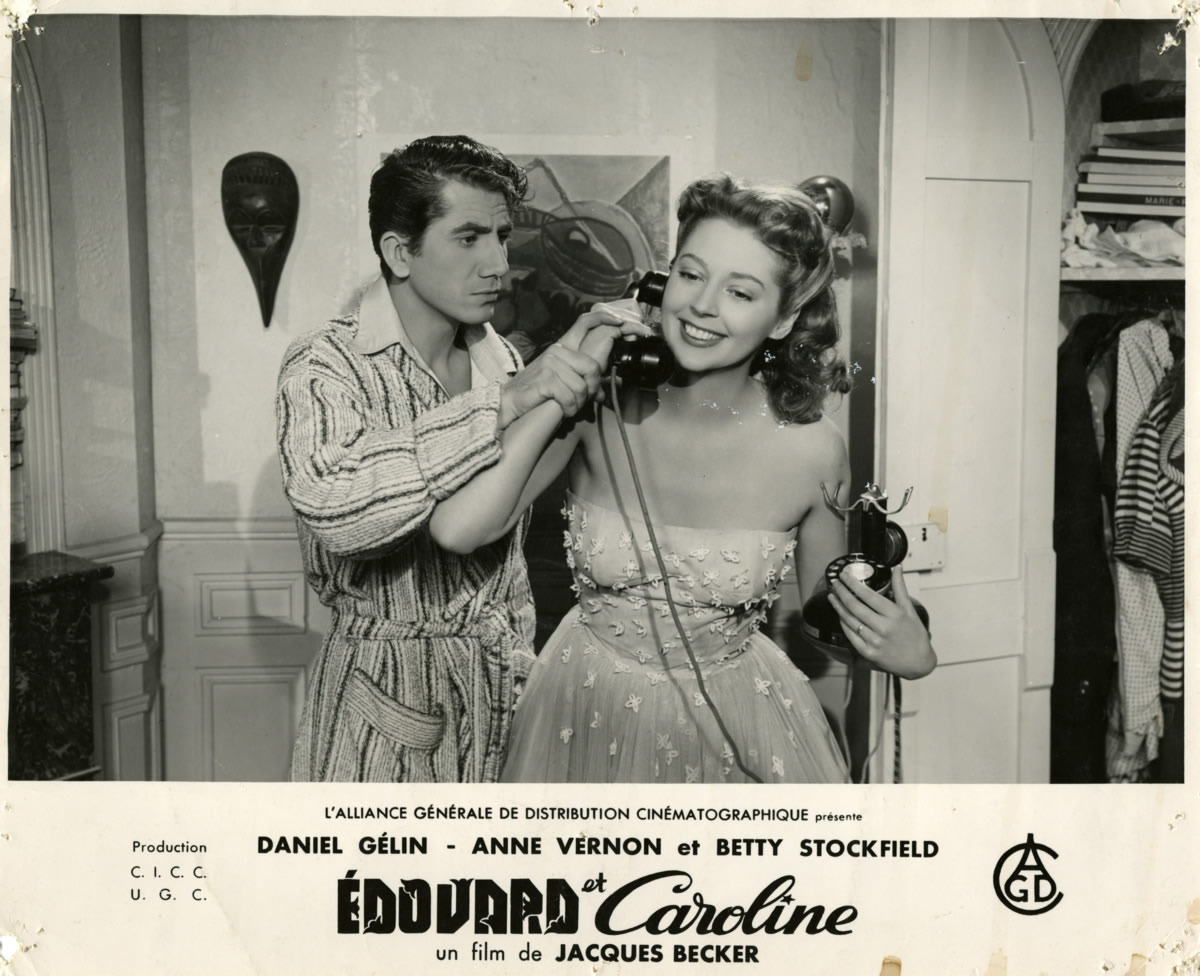 Edouard et Caroline de Jacques Becker