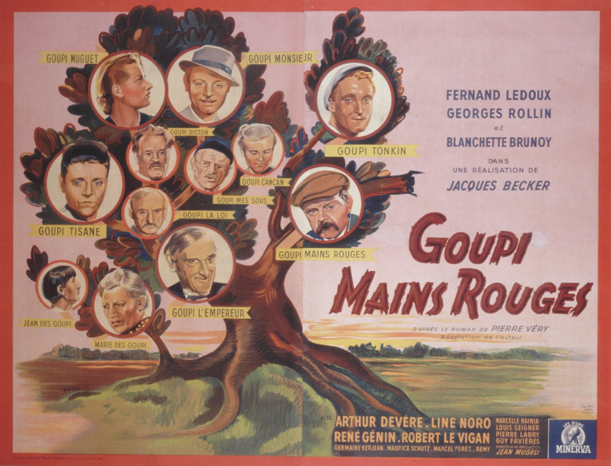 Goupi Mains Rouges de Jacques Becker (Phili/DR)