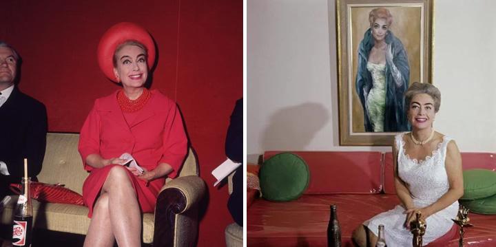 Joan Crawford et ses bouteilles de Pepsi