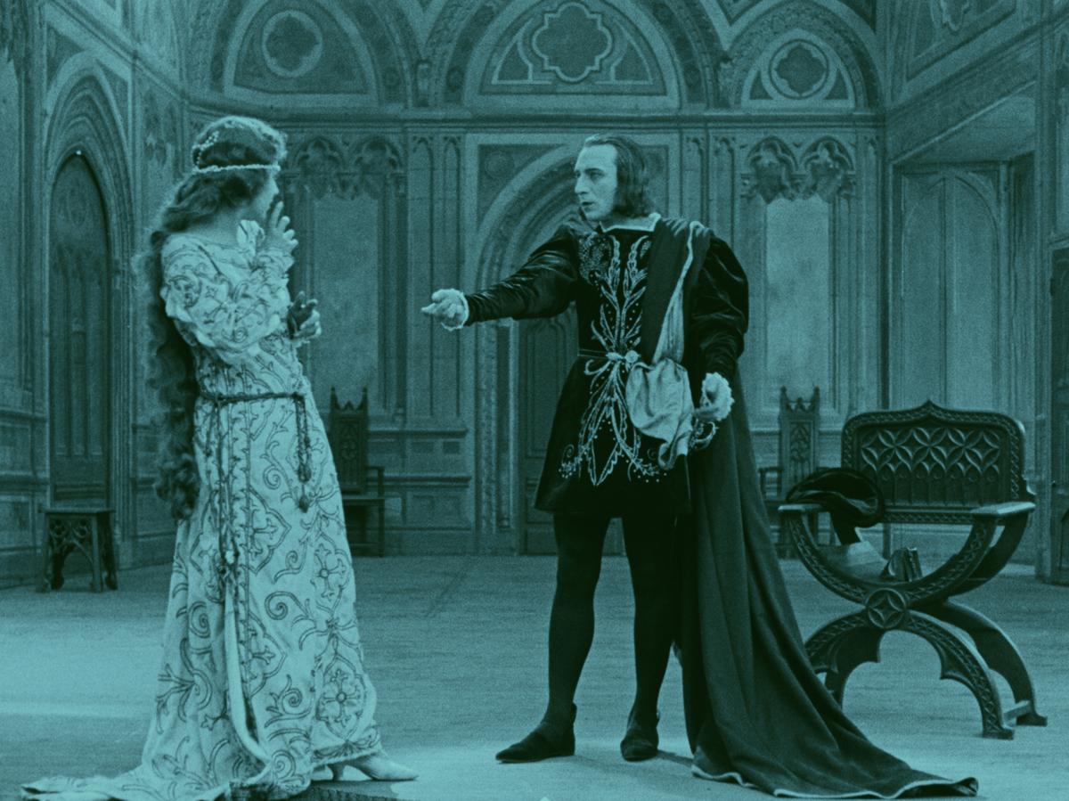 Kean ou désordre et génie (Alexandre Volkoff, 1923) : le dialogue avec Ophélie