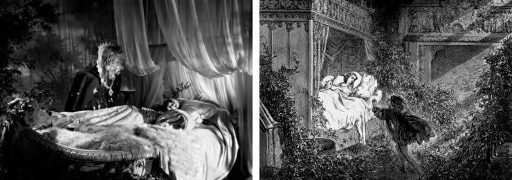 La Belle et la Bête / Gustave Doré