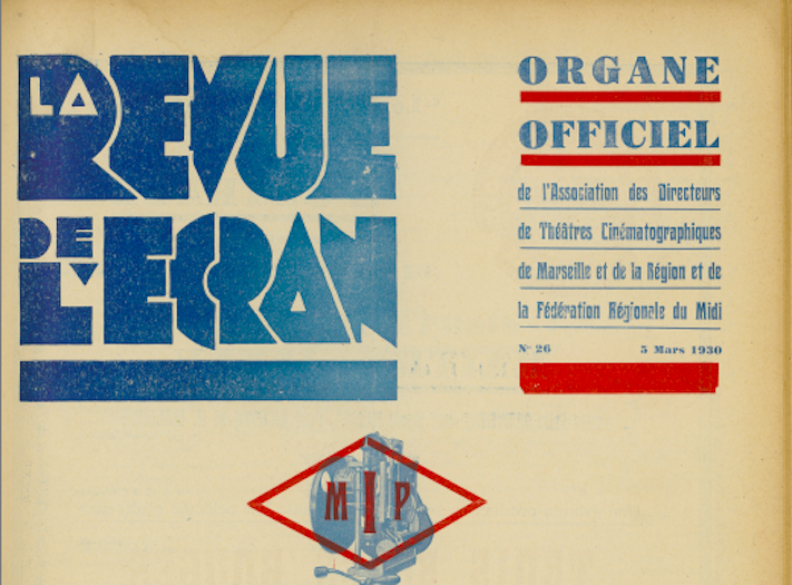 La Revue de l'écran (1928-1944)