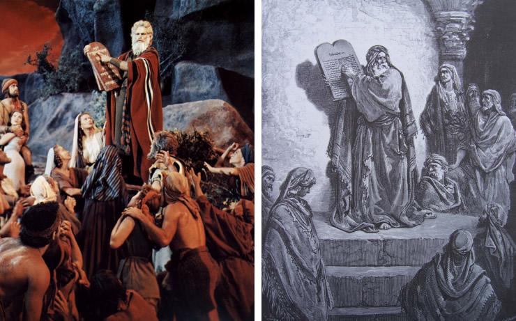Les 10 Commandements / Gustave Doré