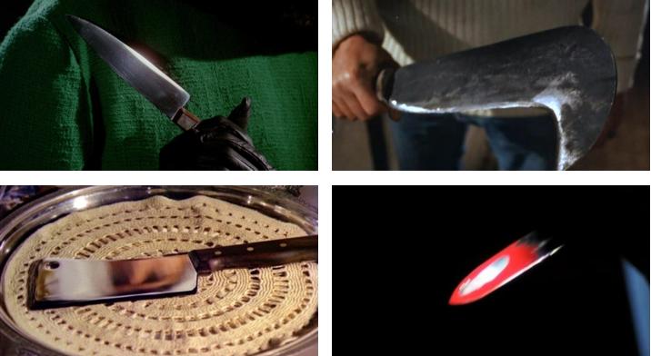 Les armes blanches de Bava