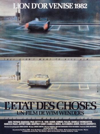 L'Etat des choses (Wim Wenders) - affiche Guy Peellaert