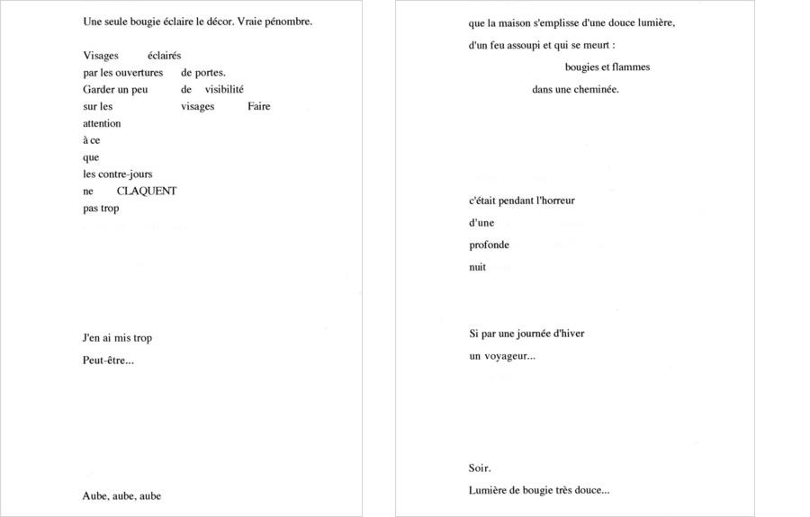 L'Objet lumière : cahier de poèmes de Philippe Rousselot