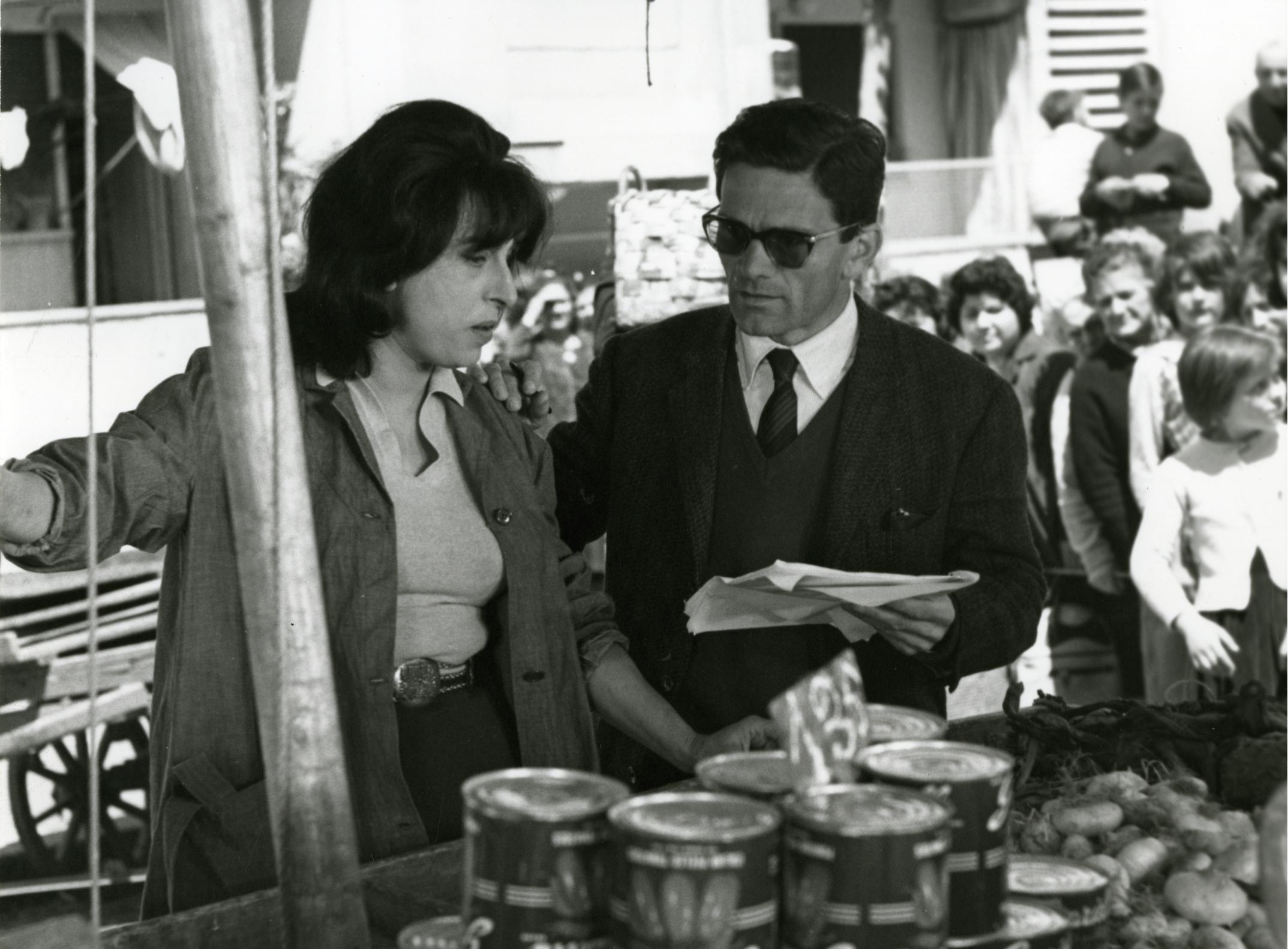 Mamma Roma (Pier Paolo Pasolini), photographie de tournage