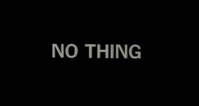 No Thing (King Lear)