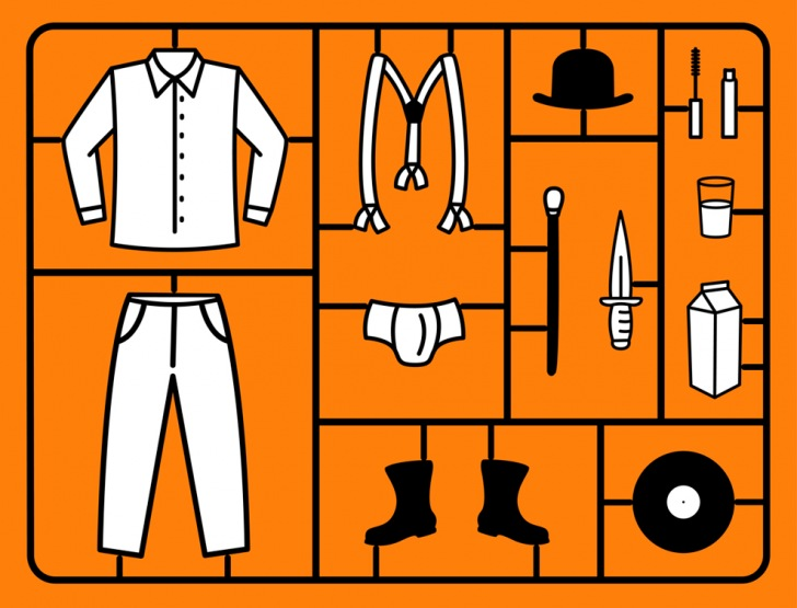Panoplie Orange mécanique
