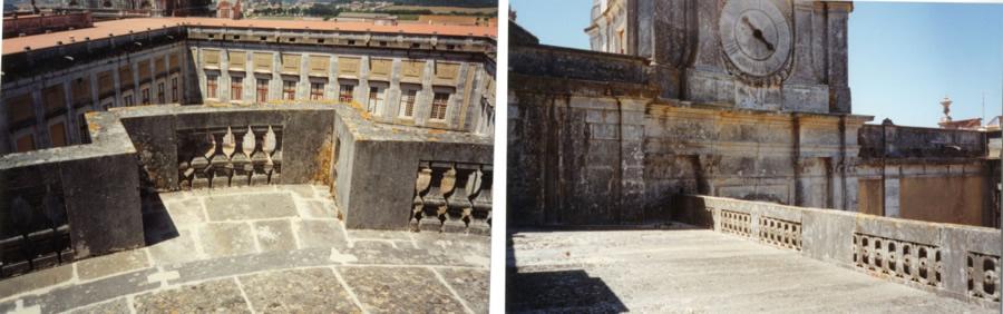 Photographies de repérage : Palais national de Mafra (Portugal)