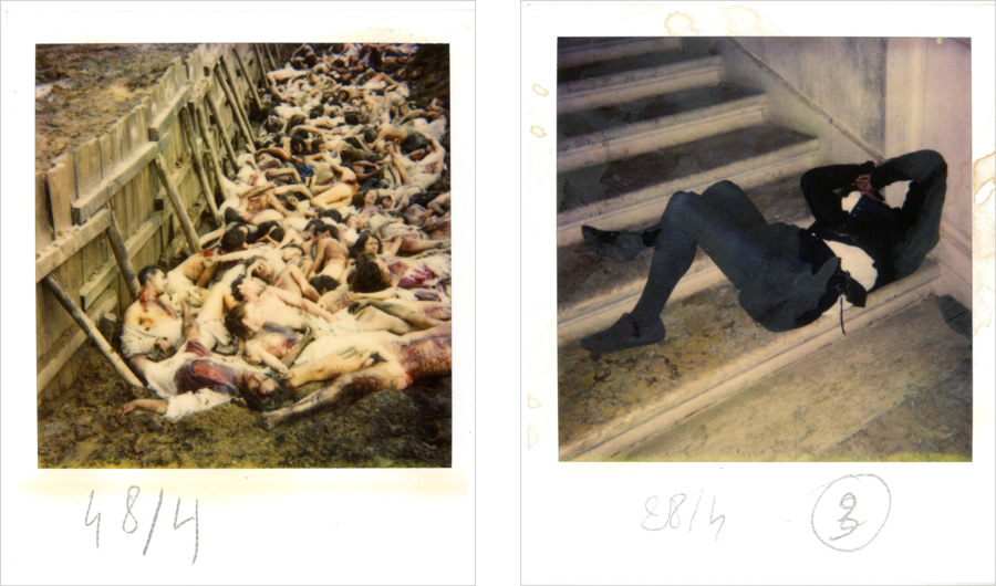 Photographies de tournage : la Saint-Barthélémy (Fonds Suzanne Durrenberger)