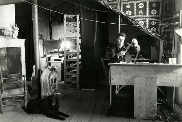 Pierre Charbonnier au travail