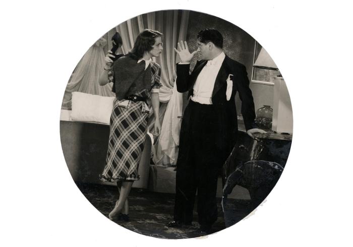 """Rebelle et clownesque face à son partenaire Albert Préjean dans """"Quelle drôle de gosse"""" (Léo Joannon, 1935)"""