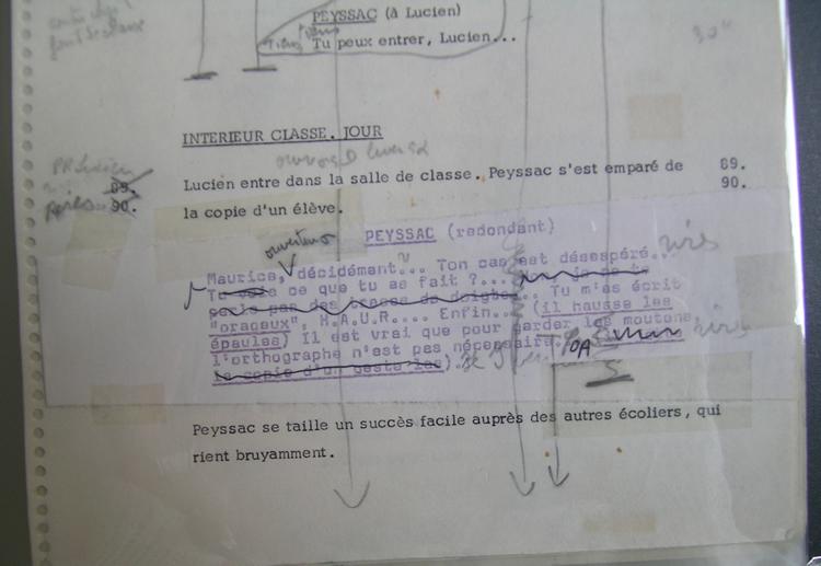 Script Lacombe Lucien (4)