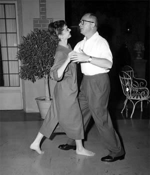Wilder et Hepburn