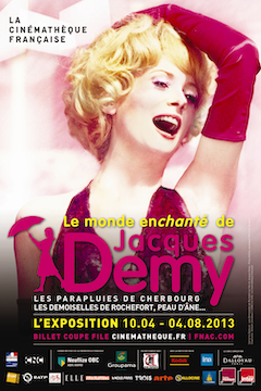 Affiche JACQUES DEMY EXPO