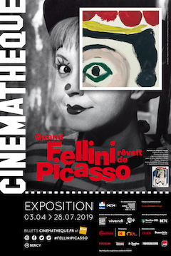 Affiche Quand Fellini rêvait de Picasso