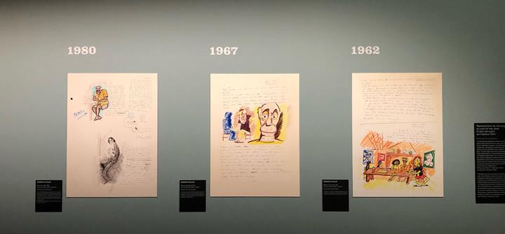 Fellini/Picasso - Scénographie de l'exposition